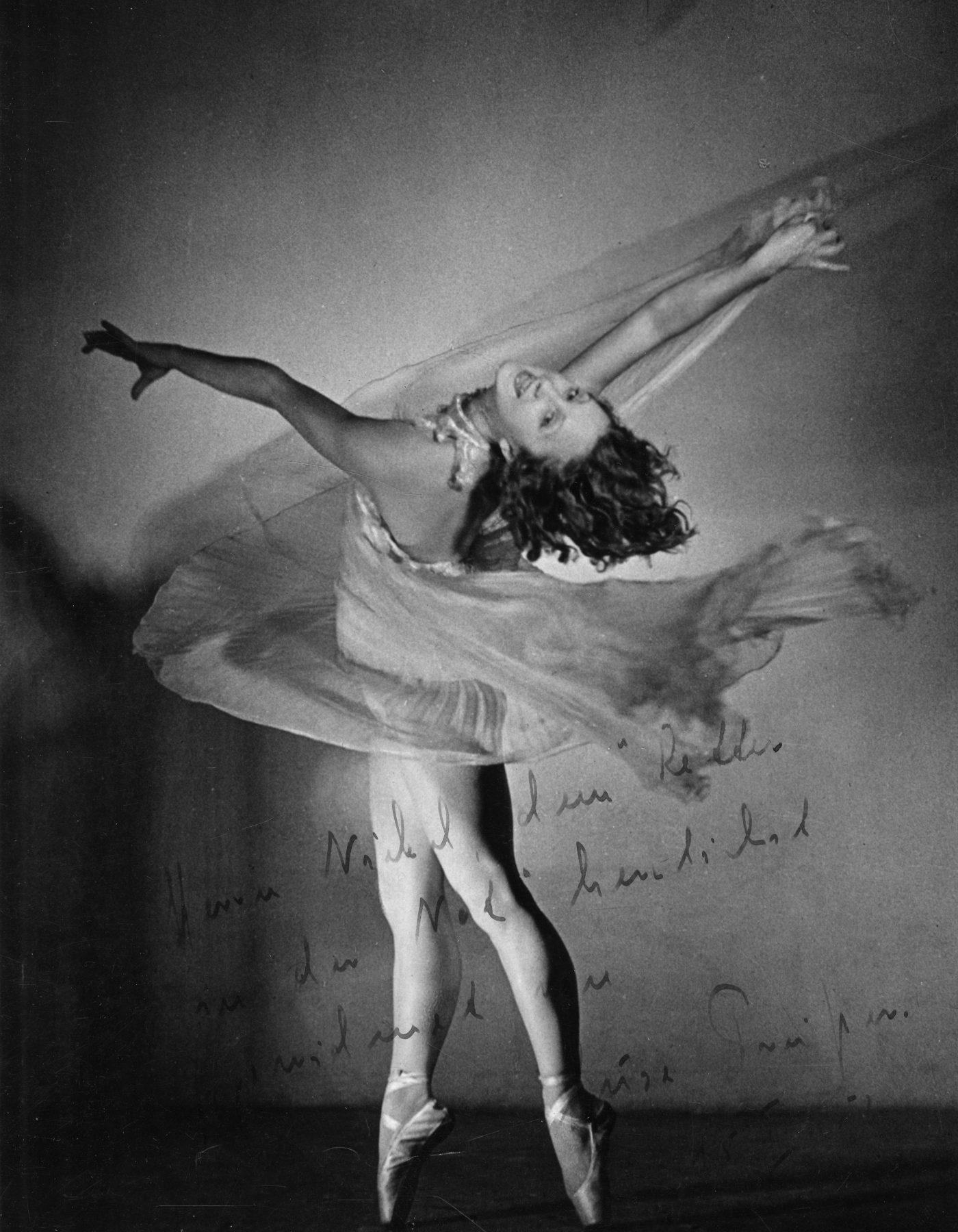 foto: siegfried enkelmann - suse preisser (1920–1979). bekannte deutsche tänzerin. sammlung Le-Wa, landesarchiv des saarlandes.