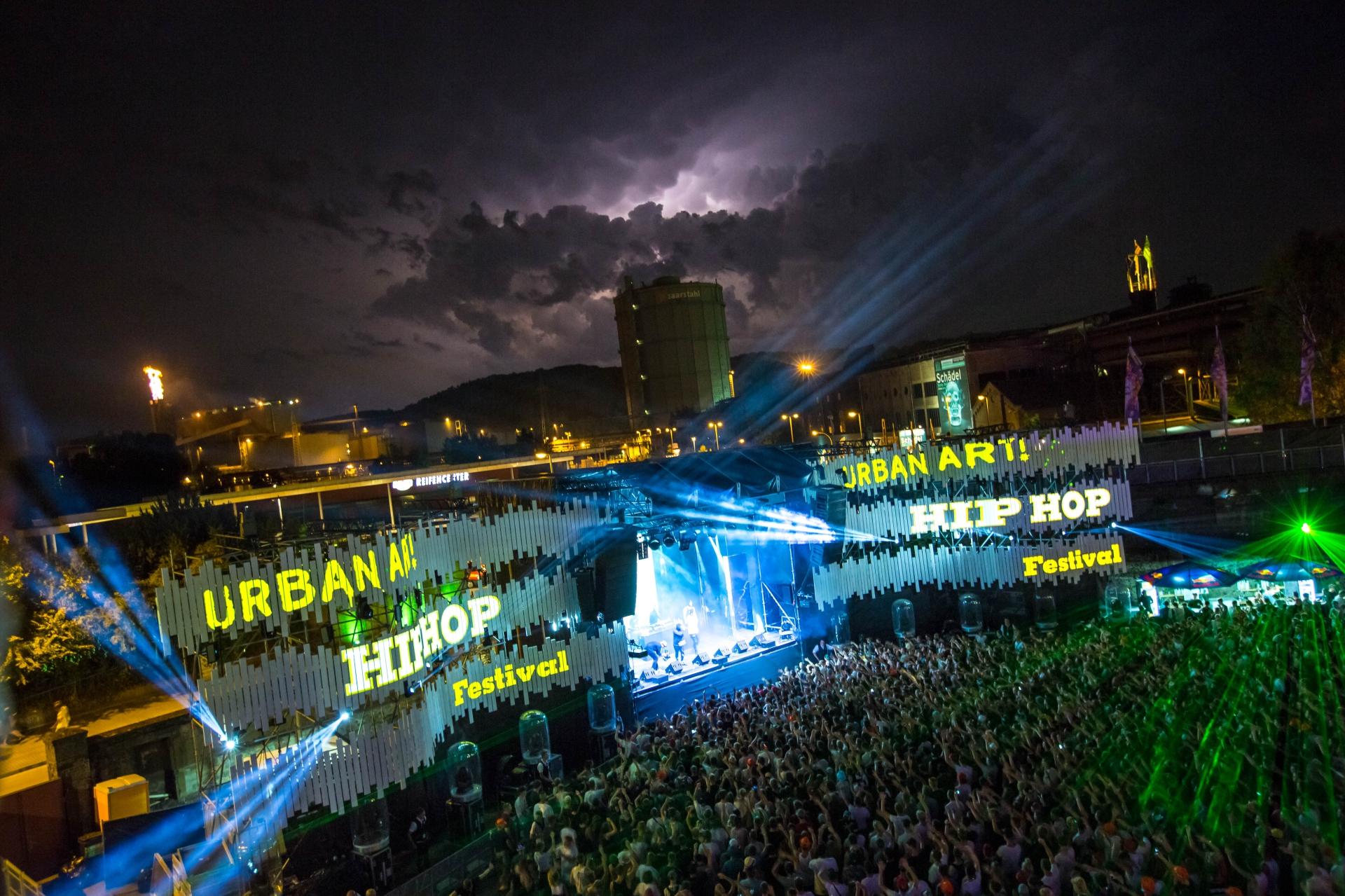 Festivalkultur - Electro Magnetic, Rocco del Schlacko und Urban Art Hiphop Festival