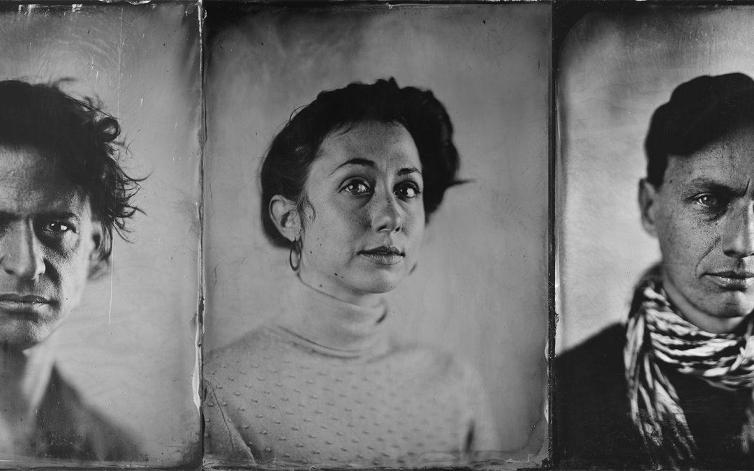 """38. Ausstellung: """"Glas – Ein historischer Blick auf Filmschaffende des Filmfestivals Max Ophüls Preis"""" von Marc Doerr und Jens Gerlach"""