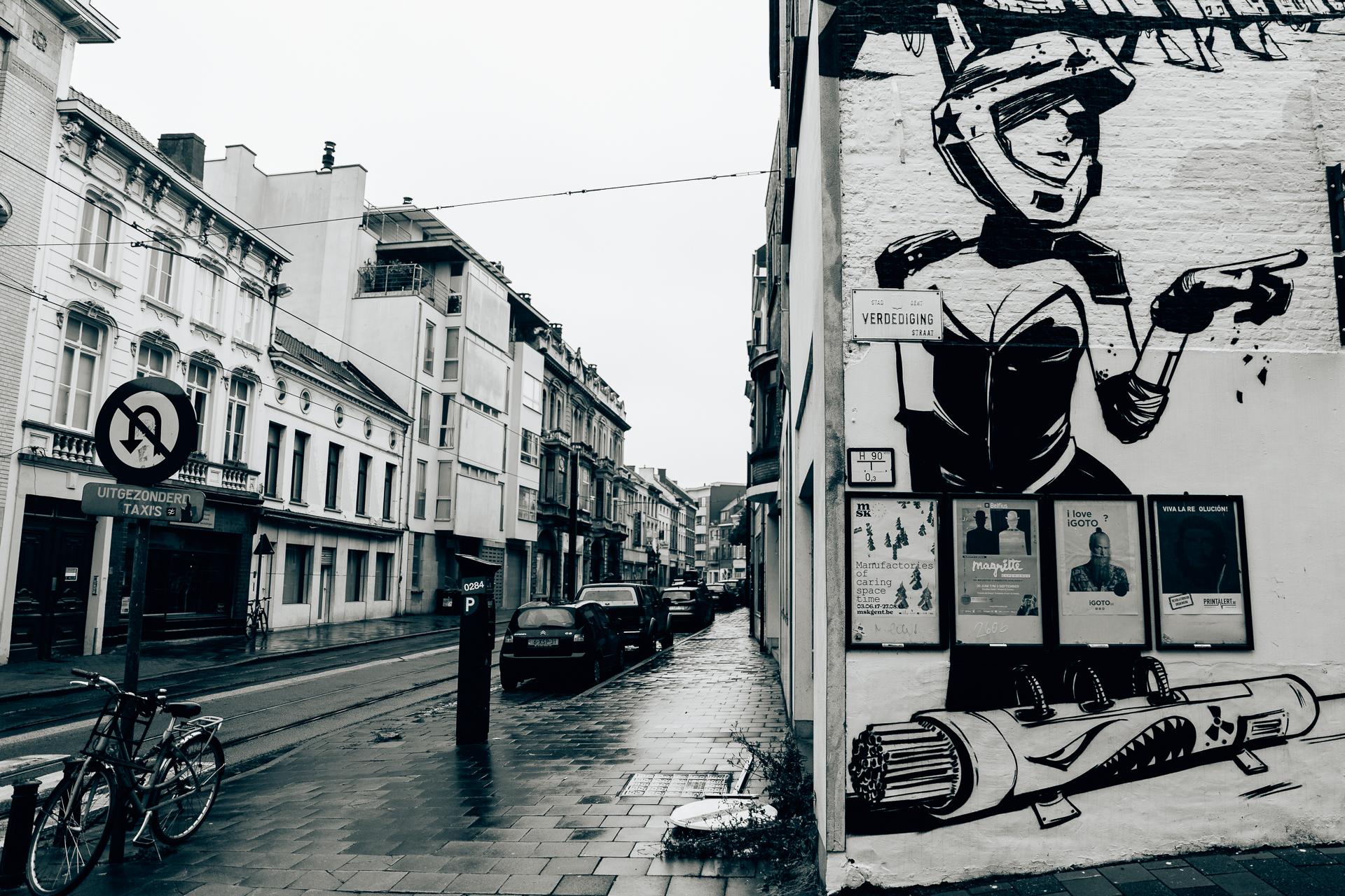 Urban Art - Seepia Fotografie